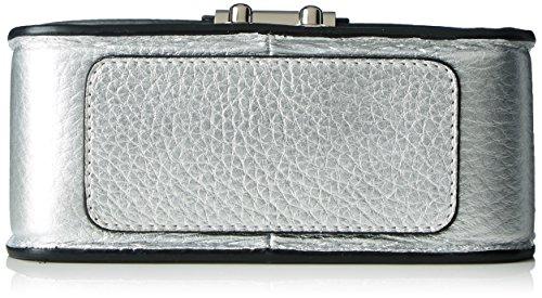 Steffen 571092, Borsa a spalla Donna, 6x11x18 cm (B x H x T) Argento (Silver)