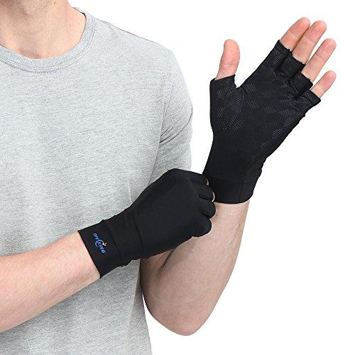 Anti-Arthritis Handschuhe (Paar) – bieten üben Druck aus um die Blutzirkulation zu erhöhen, Schmerz zu reduzieren und die Heilung zu...