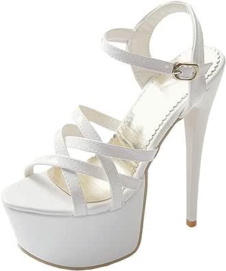 Zanpa Donne Moda Stiletto High Heels Sandali