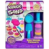 Kinetic Sand, Bäckerei Spielset mit 454 g Kinetic Sand und 16 Werkzeugen und Förmchen, für Kinder...