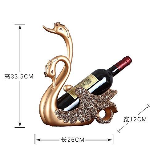 Wine Rack Dekoration Modernes Handwerk Kunst kreative Möbel europäischen Wohnzimmer Weinschrank Dekoration zu Hause, (Für Dekoration Zu Halloween Niedliche Hause)