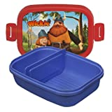 Studio 100 MEVI00000350 - Wickie und die starken Männer, Lunchbox mit Abtrenner