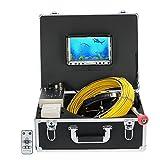 Lixada 20M Sewer Inspektion Videokamera mit DVR Recorder, 7