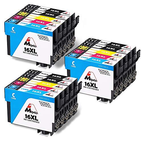 Mipelo Compatible para Epson 16 16XL