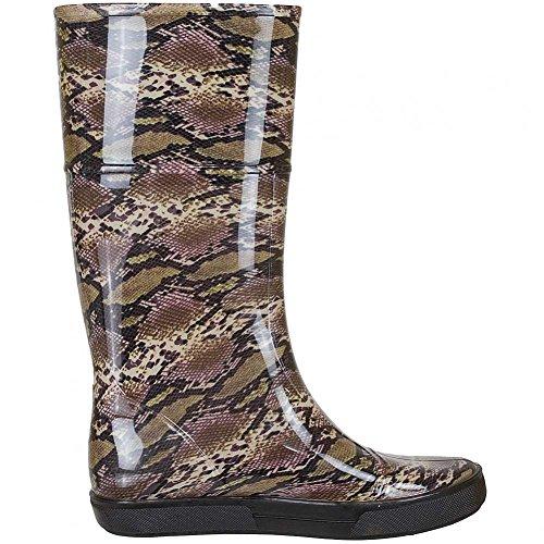 Refresh - Stivali di gomma Donna Nero (Snake)