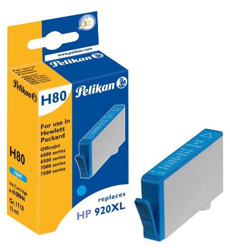 Preisvergleich Produktbild Pelikan Druckerpatrone H80 ersetzt HP CD972AE, Cyan