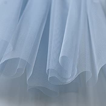 Light Pastel Baby Blue Soft Tulle Veiling Draping Fabric 150cm wide by the m