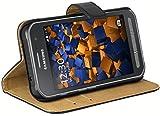 mumbi Ledertasche im Bookstyle für Samsung Galaxy Xcover 3 Tasche