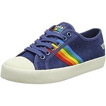 Coaster Rainbow, Zapatillas para Mujer, Azul (Denim/Multi DE), 38 EU Gola