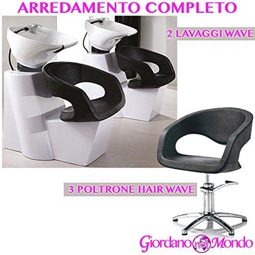 Arredamento negozio completo da salone parrucchiere e barbiere professionale
