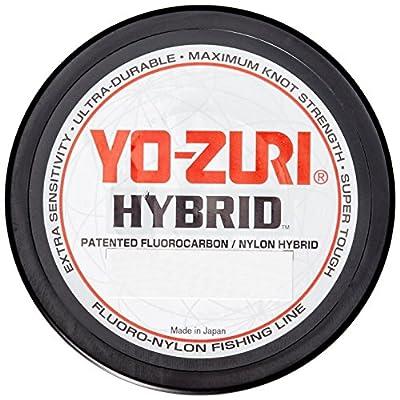 Yo-Zuri Hybrid 600-Yard Fishing Line, Clear, 15-Pound by Yo-Zuri