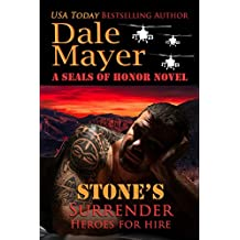 Stone's Surrender: A SEALs of Honor World Novel (Heroes for Hire Book 2) (English Edition)