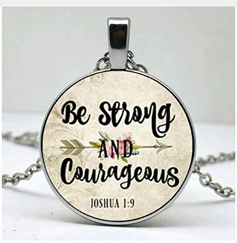 kette, Geschenk für Sie, treue Charm-Halskette, Krieger-Charm, Survivor-Halskette ()