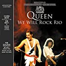 QUEEN - WE WILL ROCK RIO: JAPAN EDITION CLEAR ON VINYL