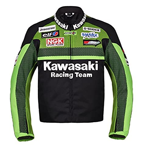Kawasaki Racing Team Textil Motorrad Jacke Motorradjacke (XL