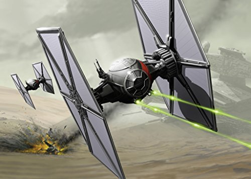 Revell-Modellbausatz-Star-Wars-First-Order-Special-Forces-TIE-Fighter-im-Mastab-151-Level-1-originalgetreue-Nachbildung-mit-vielen-Details-Build-Play-mit-LightSound-zum-Bauen-Spielen-06751