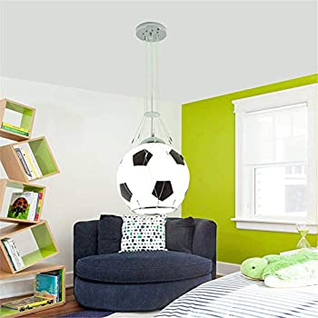 Luminaire Chambre Ado Garcon, Lustre Enfant Garcon Luminaire Football  Lustre Chambre Ado Garcon Luminaire Suspension