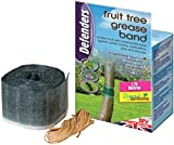 Defenders Fruit Tree Grease Band (Poison-Free Protection from Insects, Use on Fruit and Ornamental Trees, Suitable for Natural, Organic Gardening, Effective for up to 2 Months), 1.75 m