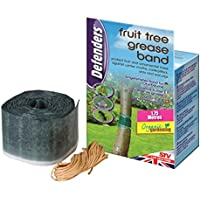 Defenders 1.75 m x 10 cm Fruit Tree Grease Band (Poison-Free Insect Protection, Suitable for Organic Gardening, Effective for Up To 2 Months)