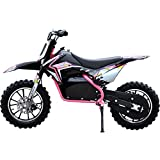 Renegade Lithium 50R 500W 36V Electric Mini Dirt Bike with Front and Rear