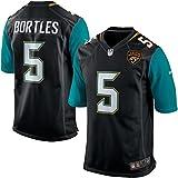 Jacksonville Jaguars Nike Youth Game Jersey - Black - Small, 5 - Blake Bortles