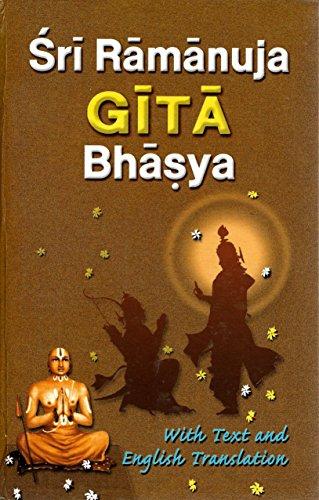 Sri Ramanuja Gita Bhasya -English