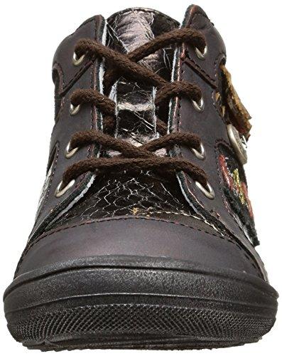 Catimini Cagou, Chaussures Premiers pas bébé fille Marron (Vtc Bronze Dpf/Roberta)