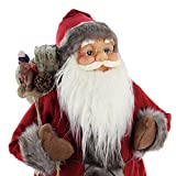 Statuetta decorativa di Babbo Natale, grande