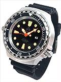 XXL 52mm–1000m–militare orologio subacqueo Tauchmeister con vetro zaffiro e Helium Velve T0300