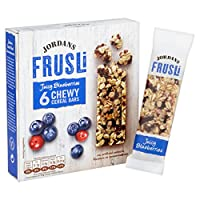 Jordans Blueberry Frusli Bar 6 x 30 gms