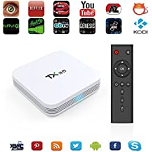Dual Wifi 2.4G/5G Zenoplige TX95 Android TV BOX Amlogic S905X Android 6.0 Marshmallow 2G/16G 3D 4K HD Bluetooth Smart TV BOX