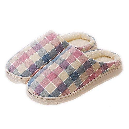 YOXI, Pantofole uomo Pink+Blue