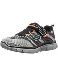 Zapatillas para ni�o, color gris , marca SKECHERS, modelo Zapatillas Para Ni�o SKECHERS 95523L MASTER MIND Gris