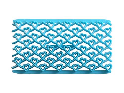 Yhcean suministros de cocina stampo per dolci per labbra stampo per fonderia in plastica per decorare (sky-blue) gadget per la casa (colore : sky-blue, dimensione : 15.2x8x0.8cm)