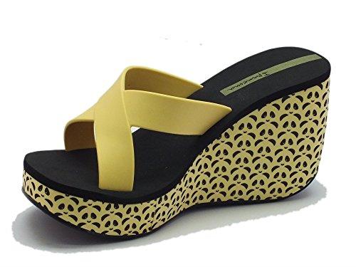 Ipanema  81570 Lipstick Straps Fem Yellow Black, Damen Sandalen Gelb Giallo Yellow Black