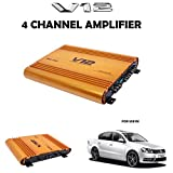 V12 Car 4 Channel Amplifier With warranty For Volkswagen Passat