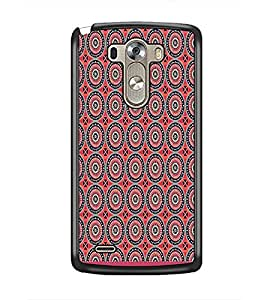 PrintDhaba Pattern D-1732 Back Case Cover for LG G3 (Multi-Coloured)
