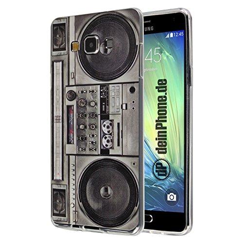 deinPhone Samsung Galaxy A7 (2017) Silikon Hülle Case Ghettoblaster