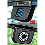 SG-Mart: Solar Powered Ventilation Auto cool Fan Organizer
