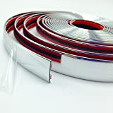 Sansour Car Chrome Trim Styling Decoration Molding Side Strip Gille 16ft-2015 New 5m x 20mm