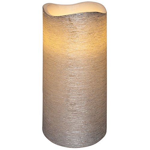 LED-candelabro de tamaño de linda: 15 cm de alto x 7,5 cm de diámetro, de colour: de colour blanco