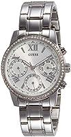 Guess W0623L1 - Reloj de lujo para mujer, color plateado de Guess