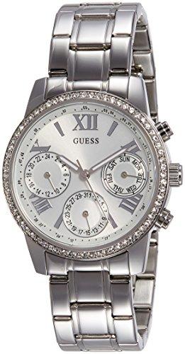 Guess W0623L1 - Orologio da polso Da Donna, Acciaio inossidabile, colore: Argento