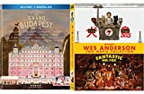 Grand Dogs & A Fox Animated Double Feature Wes Anderson Isle of Dogs + The Sly Fantastic Mr. Fox Blu Ray + Grand Budapest Hotel 2 Pack Fun Film Set