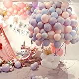 Latex-Luftballons in Macaron-Farbe, für Hochzeit, Geburtstag, Party, Abschlussfeier, 2019,...