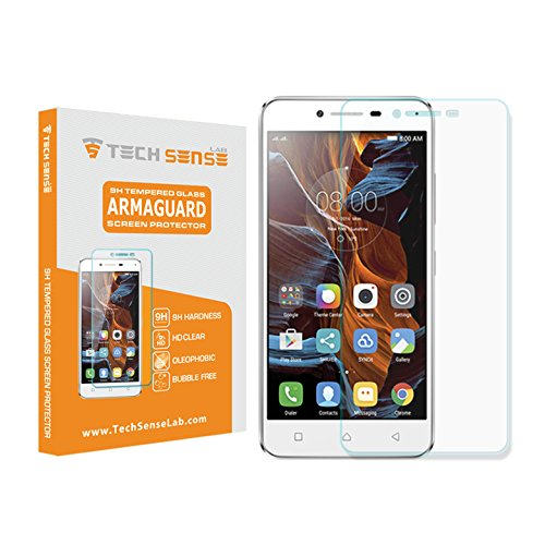 Lenovo K5 Premium Tempered Glass Screen Protector [9H] by Tech...