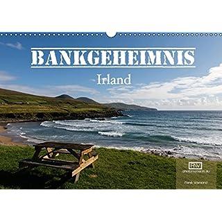 Bankgeheimnis Irland 2017 (Wandkalender 2017 DIN A3 quer): Die besten Sitzbänke in Irland mit atemberaubenden Aussichten der rauen irischen Landschaft. (Monatskalender, 14 Seiten ) (CALVENDO Orte)