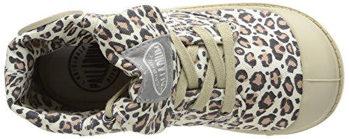 Palladium Baggy Animals K, Boots mixte enfant Marron (Leopard)