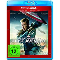 The Return of the First Avenger - 3D + 2D