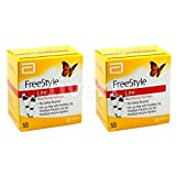 FreeStyle Lite Testing Strips 2x50 Brand New Sealed